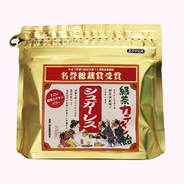 飴 「シュガーレス 緑茶カテキン飴」 80g 馬場製菓