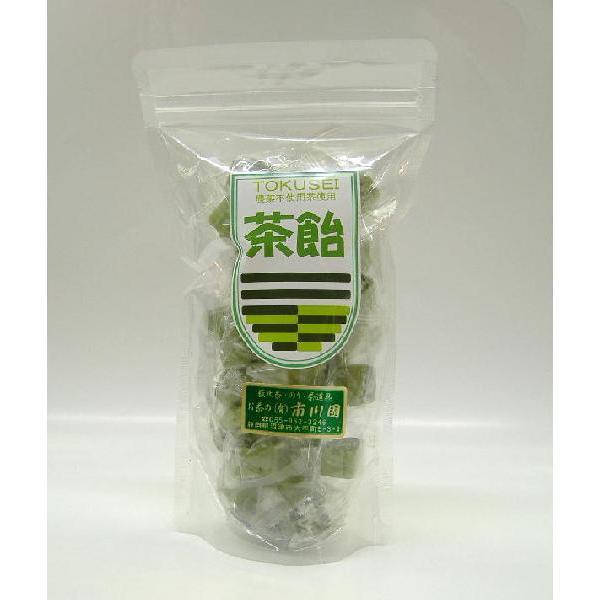 飴「茶飴」120g×1袋 静岡川根産 農薬不使用