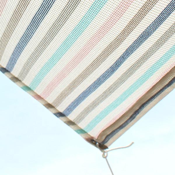 おしゃれな日よけ イチオリシェード   遮光タイプ マカロン          目かくし サンシェード|ichiori-inc|02