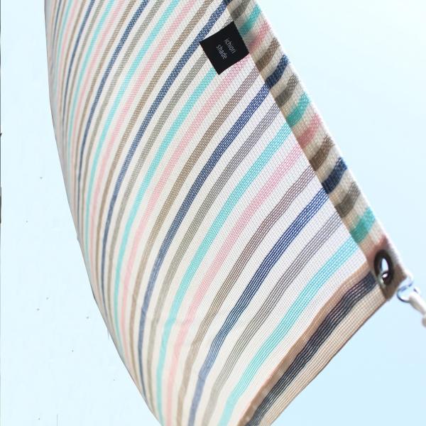 おしゃれな日よけ イチオリシェ ード  大型  マカロン 遮光4mロングタイプ 目かくし サンシェード|ichiori-inc