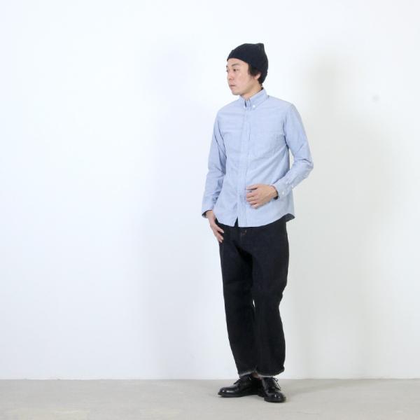 nisica (ニシカ) ボタンダウンシャツ|icora|02