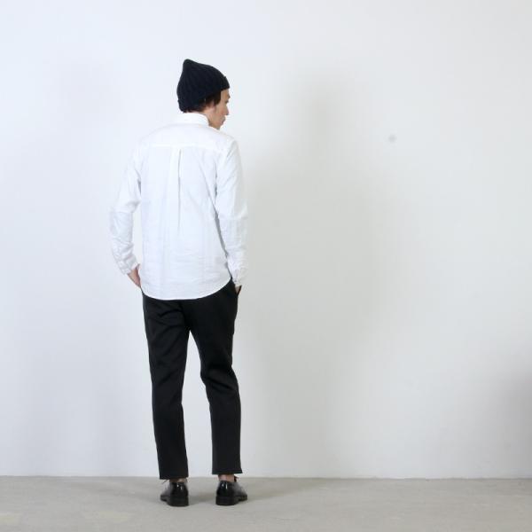 nisica (ニシカ) ボタンダウンシャツ|icora|03