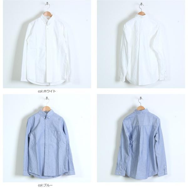 nisica (ニシカ) ボタンダウンシャツ|icora|05