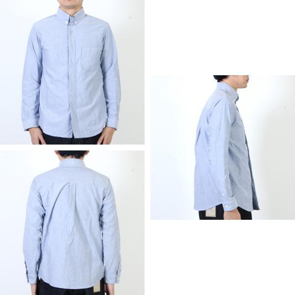 nisica (ニシカ) ボタンダウンシャツ|icora|06