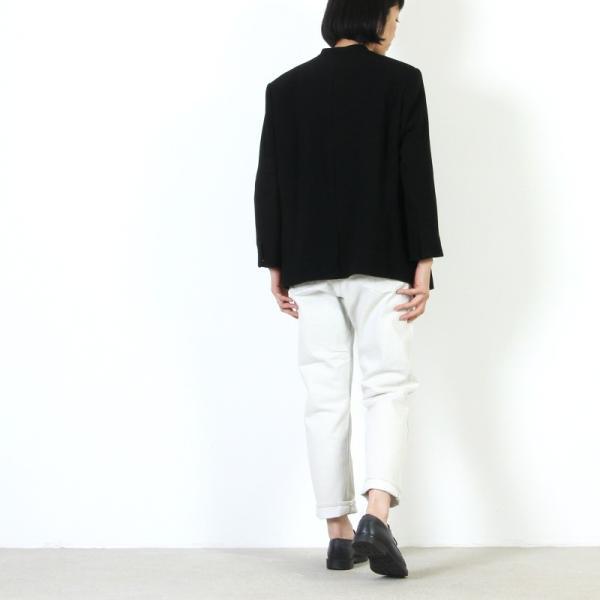 Ordinary Fits (オーディナリーフィッツ) 5POCKET ANKLE DENIM white one wash / 5ポケット アンクルデニム ホワイト|icora|04