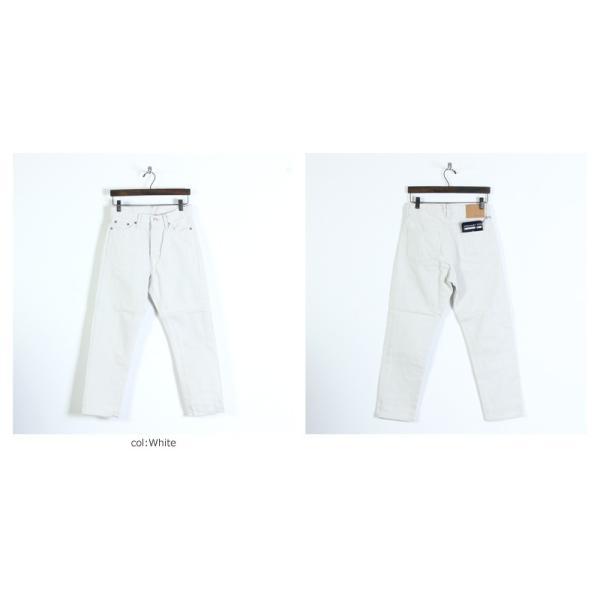Ordinary Fits (オーディナリーフィッツ) 5POCKET ANKLE DENIM white one wash / 5ポケット アンクルデニム ホワイト|icora|06