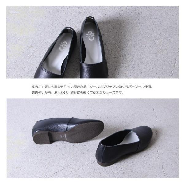 【30% OFF】ramble (ランブル)  レザースリッポンシューズ|icora|08
