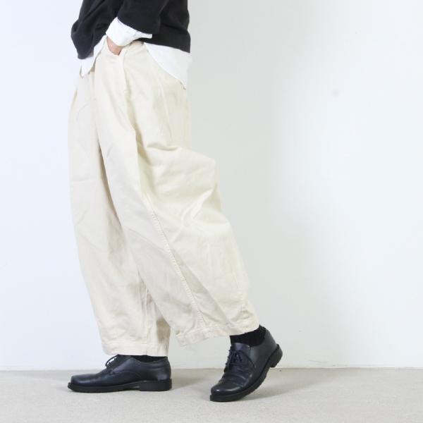 【予約販売】 HARVESTY (ハーベスティ) サーカスパンツ|icora|04