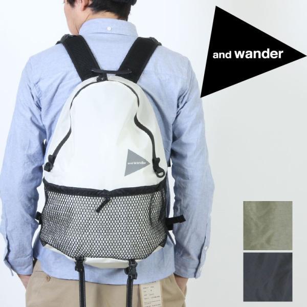 and wander (アンドワンダー) 20L daypack / 20L デイパック|icora