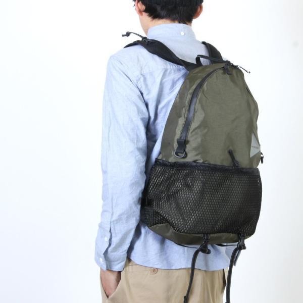 and wander (アンドワンダー) 20L daypack / 20L デイパック|icora|03