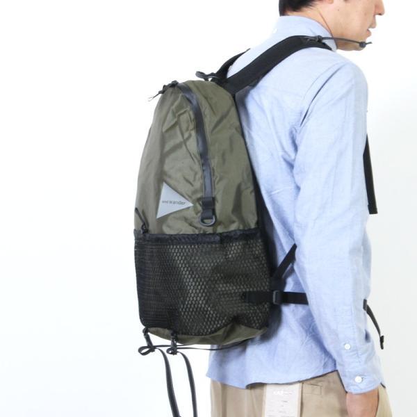 and wander (アンドワンダー) 20L daypack / 20L デイパック|icora|04