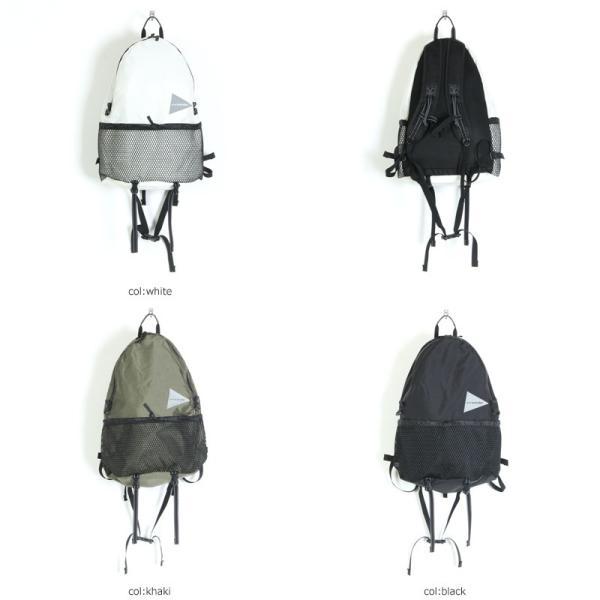 and wander (アンドワンダー) 20L daypack / 20L デイパック|icora|06