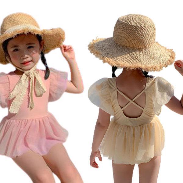 キッズ 水着 女の子 キッズ水着 子供水着 ガールズ水着 子供服 連体 水遊び ワンピース スイミング かわいい プール 海 海水浴 おしゃれ 紫外線防止 日焼け防止