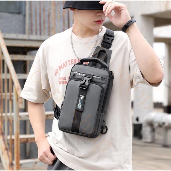 swisswin 斜め掛けバッグ メンズ ボディバッグ レディース ワンショルダーバッグ アウトドア 大学生  かばん 肩掛け 大容量 旅行 通勤 ショルダーバッグ icoup 14