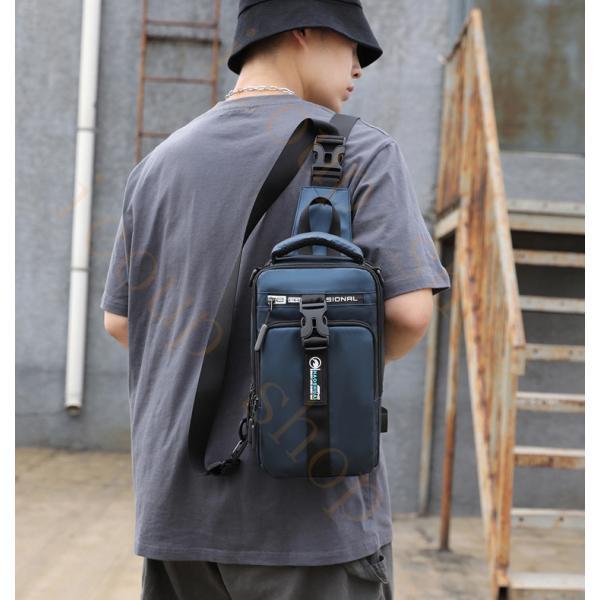 swisswin 斜め掛けバッグ メンズ ボディバッグ レディース ワンショルダーバッグ アウトドア 大学生  かばん 肩掛け 大容量 旅行 通勤 ショルダーバッグ icoup 15