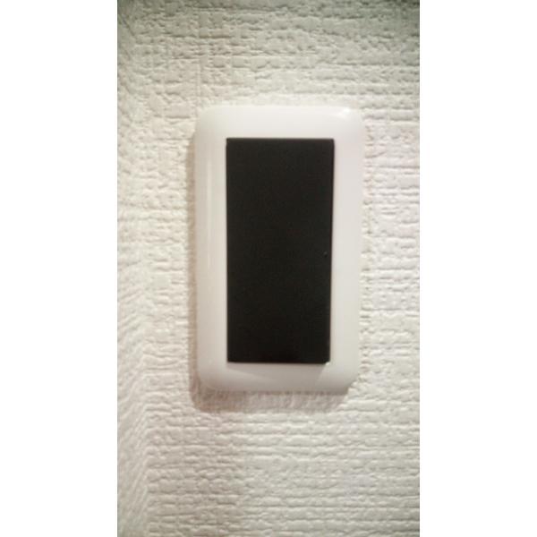 黒色スイッチパネル1極 idea-zakka-shop-z