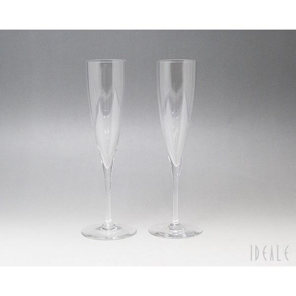 バカラ Baccarat ドンペリ 1845-244 シャンパンフルート 2本セット 1845244|ideale|02