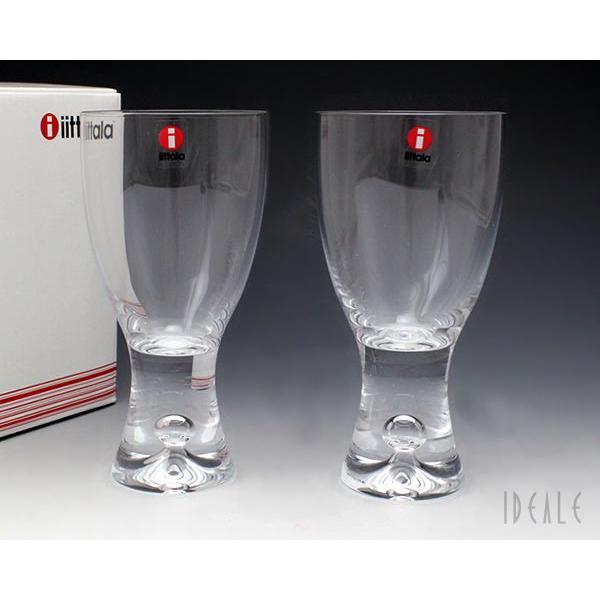 イッタラ iittala タピオ 950048 ホワイトワイン 180cc ペア クリア|ideale