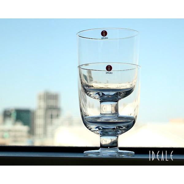 イッタラ レンピ 951169 グラス 350ml 2個入り(ペア) クリア 箱入り|ideale|02