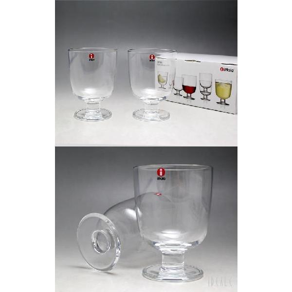 イッタラ レンピ 951169 グラス 350ml 2個入り(ペア) クリア 箱入り|ideale|03