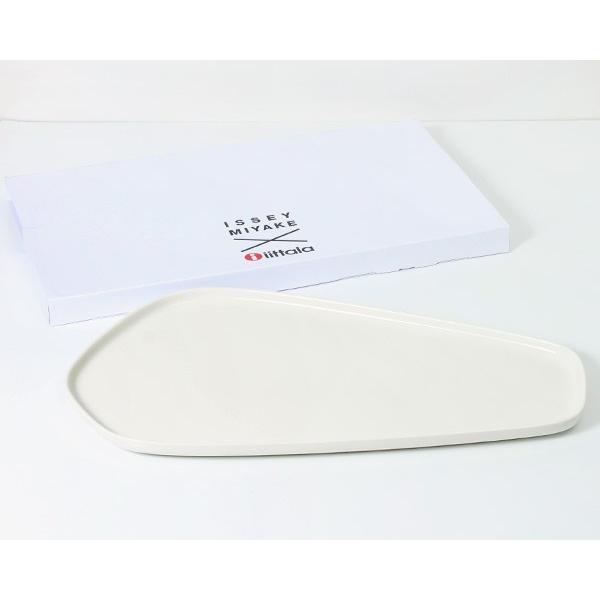 イッタラ × イッセイ ミヤケ プラター 20×35cm ホワイト iittala × ISSEY MIYAKE|ideale|03