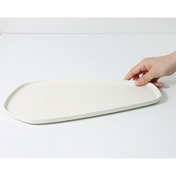 イッタラ × イッセイ ミヤケ プラター 20×35cm ホワイト iittala × ISSEY MIYAKE|ideale|05