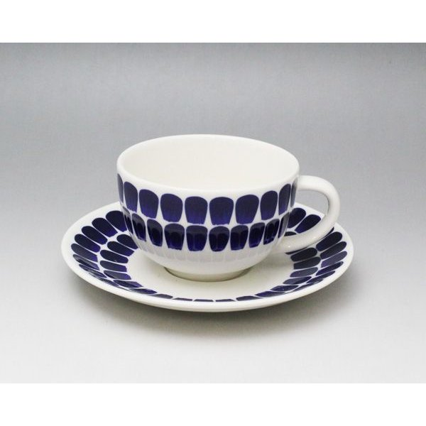 アラビア ARABIA 24h トゥオキオ ティーカップ&ソーサー 18466/8381 コバルトブルー ideale