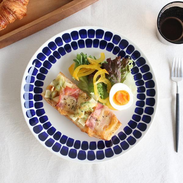 アラビア ARABIA 24h Tuokio トゥオキオ 8382 プレート/お皿 26cm コバルトブルー|ideale