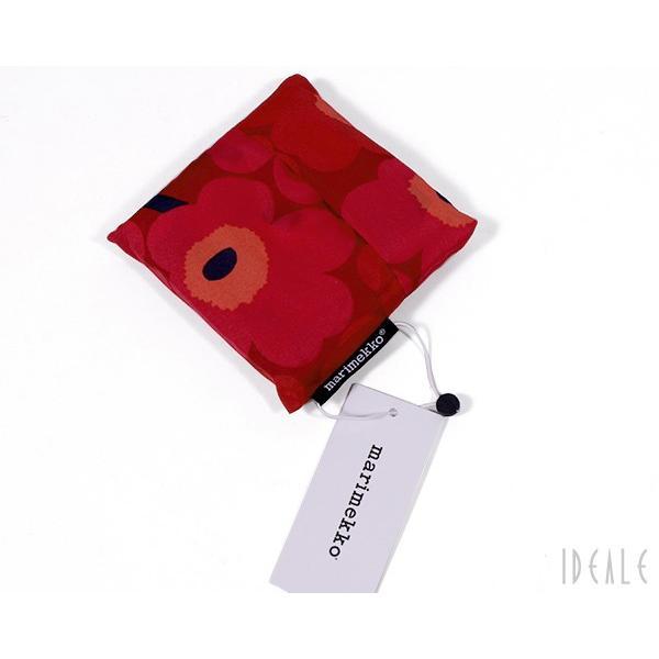マリメッコ ミニウニッコ エコバッグ(スマートバッグ) レッド marimekko MINI-UNIKKO [ネコポス対応可(4枚まで)]
