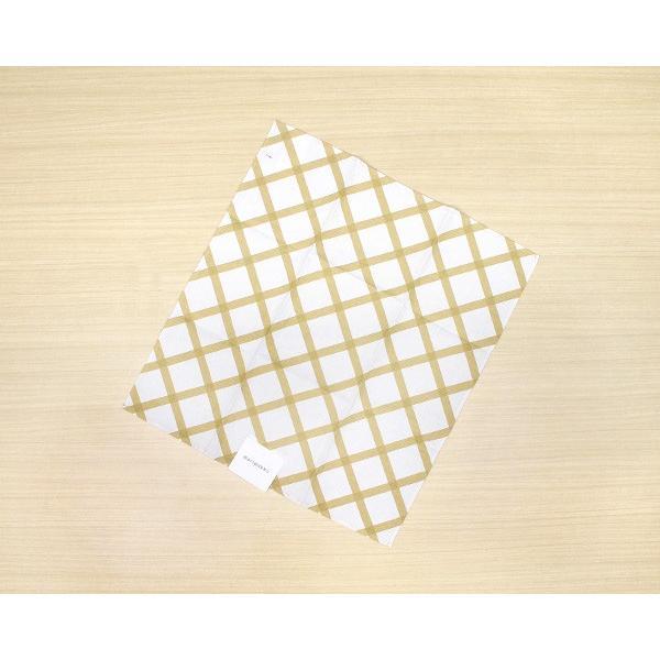 マリメッコ キルト ティータオル 1枚 ナチュラルホワイト/ゴールド marimekko QUILT [ネコポス対応可(4枚まで)]|ideale
