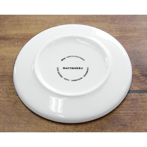 マリメッコ ラシィマット プレート 13.5cm ホワイト/ブラック marimekko RASYMATTO|ideale|06