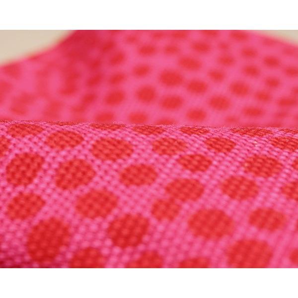 マリメッコ ピルプトパルプト ポーチ エエヴィ レッド×ピンク marimekko PIRPUT PARPUT EEVI [ネコポス対応可(4枚まで)] 廃番品