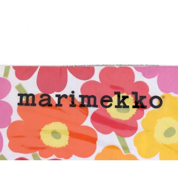 マリメッコ ペーパーナプキン ミニウニコト マルチ 33x33cm 20枚入り 552700 marimekko MINI UNIKOT|ideale|03
