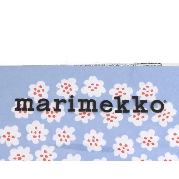マリメッコ ペーパーナプキン プケッティ ライトブルー 33x33cm 20枚入り 575749 marimekko PUKETTI|ideale|03