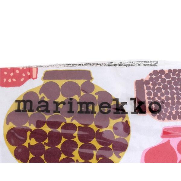 マリメッコ ペーパーナプキン プルヌッカ レッド 33x33cm 20枚入り 589210 marimekko PURNUKKA|ideale|03