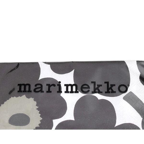 マリメッコ ペーパーナプキン ウニッコ ホワイト/ブラック 33x33cm 20枚入り marimekko UNIKKO|ideale|03
