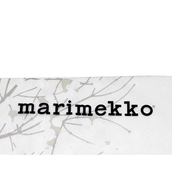 マリメッコ ペーパーナプキン ルミマルヤ グレー(グレイ) 33x33cm 20枚入り marimekko LUMIMARJA|ideale|03