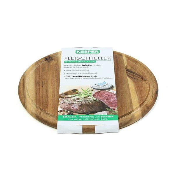 ケスパー カッティングボード 25cm アカシア オイルコーティング kesper Meat Dish 28442 ideale 02