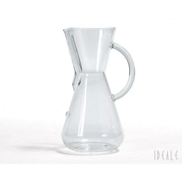 ケメックス CHEMEX コーヒーメーカー 3カップ CM-1GH ハンドル付 ガラスハンドル|ideale|02