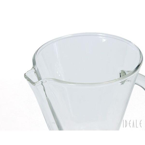 ケメックス CHEMEX コーヒーメーカー 3カップ CM-1GH ハンドル付 ガラスハンドル|ideale|03