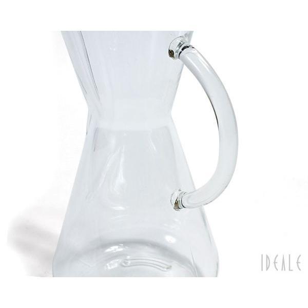ケメックス CHEMEX コーヒーメーカー 3カップ CM-1GH ハンドル付 ガラスハンドル|ideale|04