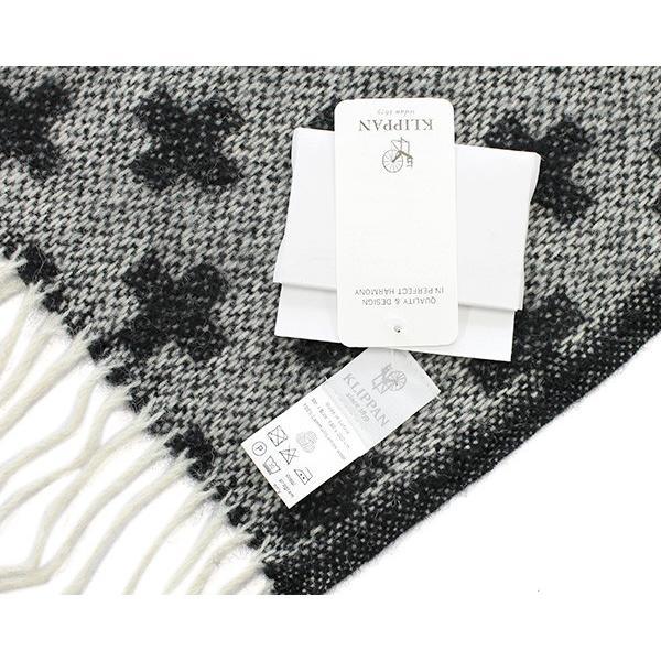 クリッパン プラス ウール スローケット 130×200cm ブラック KLIPPAN Plus|ideale|04