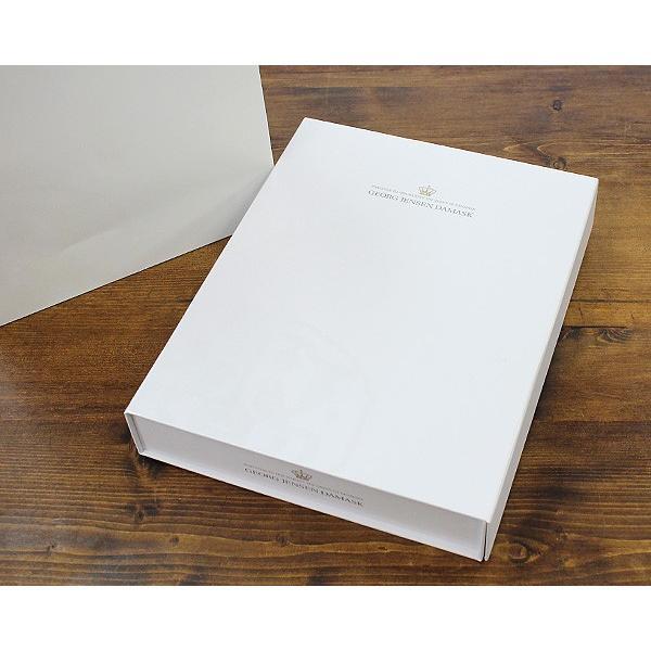 ジョージ・ジェンセン・ダマスク ホリゾンタル ティータオル/キッチンタオル 全4色 2枚セット ギフトボックス&紙袋付 Georg Jensen Damask|ideale|02