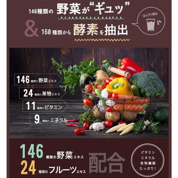 スムージー 酵素 ダイエット 置き換え グリーンベリースムージーダイエット160酵素MIX ミックスベリー味|ideastore|04