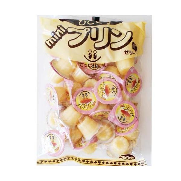 ひとくちミニプリン味ゼリー 30個 (やおきん)