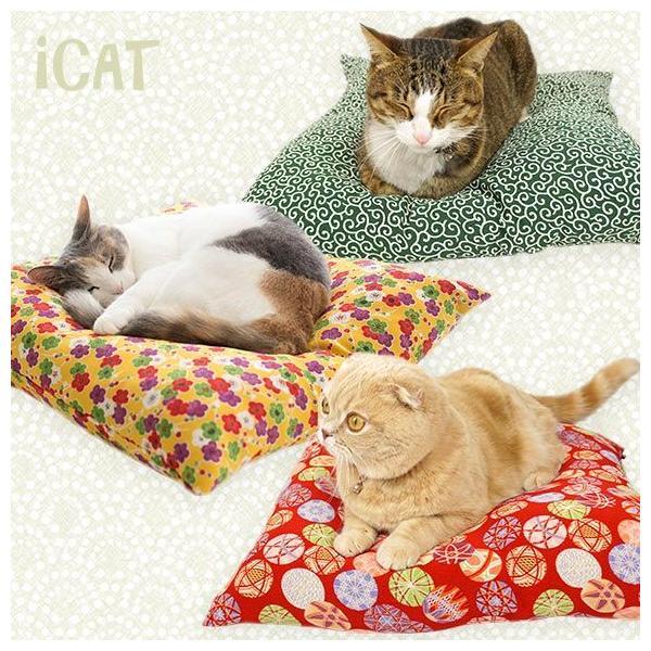 猫がくつろげるねこ座布団・ベッドいろいろ