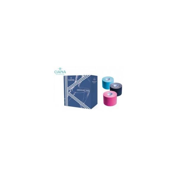 医道の日本社 CIANA シアナ キネシオロジーテープ カラー 5.0cm×5m   6巻入【日本製】 / キネシオテープ 伸縮 キネシオ キネシオロジー