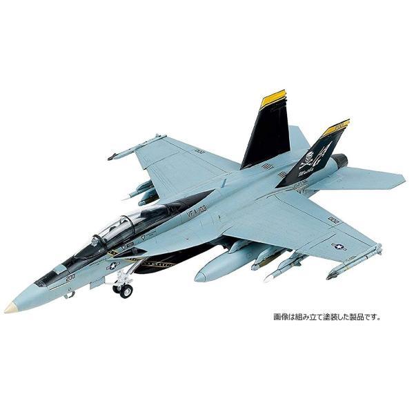 童友社 1/72 凄プラモデル No.3 アメリカ海軍 F/A-18F スーパーホーネット VFA-103 ジョリーロジャース 色分け済みプ|idr-store