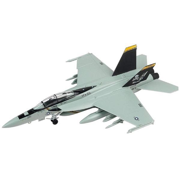 童友社 1/72 凄プラモデル No.3 アメリカ海軍 F/A-18F スーパーホーネット VFA-103 ジョリーロジャース 色分け済みプ|idr-store|05