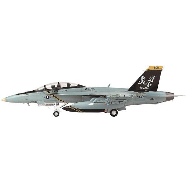 童友社 1/72 凄プラモデル No.3 アメリカ海軍 F/A-18F スーパーホーネット VFA-103 ジョリーロジャース 色分け済みプ|idr-store|06